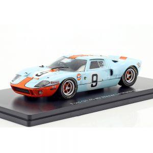 Rodriguez, Bianchi Ford GT 40 ganador del Golfo #9 24h LeMans 1968 1:43
