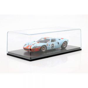Rodriguez, Bianchi Ford GT 40 Gulf #9 vincitore della 24h LeMans 1968 1:43