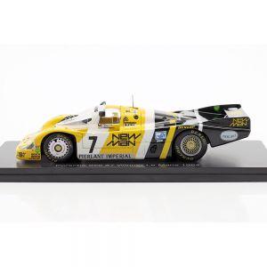 Porsche 956B #7 vincitrice 24h LeMans 1984 Pescarolo, Ludwig 1/43