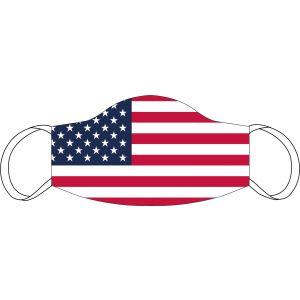 Máscara de boca y nariz USA