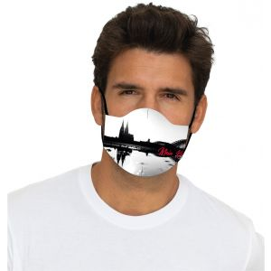 Mouth Nose Mask Cologne Skyline