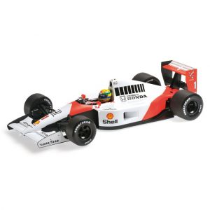 McLaren Honda MP4/6 Escala 1:18