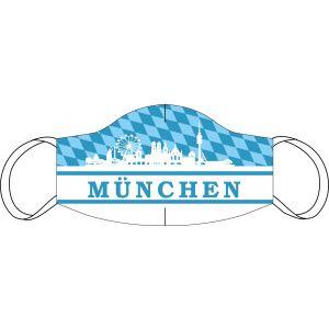 Máscara de boca y nariz de Munich