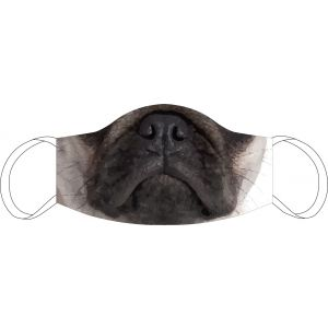 Mouth Nose Mask Pug