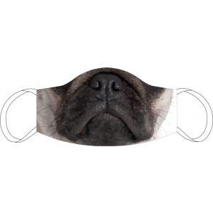 Mund-Nasen Maske Mops