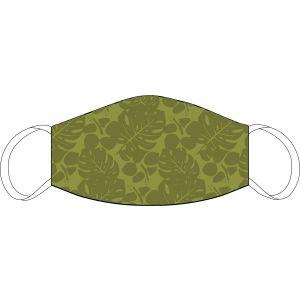 Masque buccal et nasal Vert floral