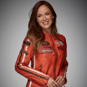 Gulf Veste Femme Racing orange
