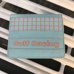 Gulf Geldbörse Racing Kontrast hellblau