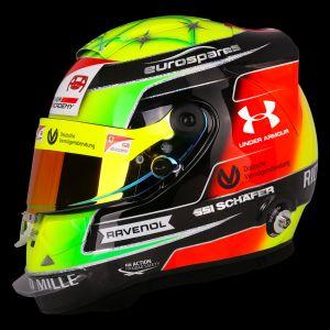 Réplica de casco Mick Schumacher 1:1 2019