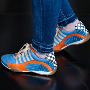 Gulf Racing Basket Lady ice blue