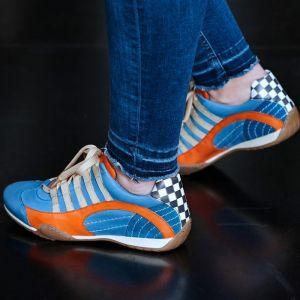 Gulf Racing Zapatillas Mujer azul hielo
