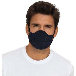 Mund-Nasen Maske Jeans