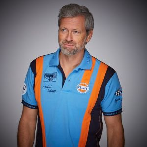 Gulf Poloshirt Racing Team cobalto