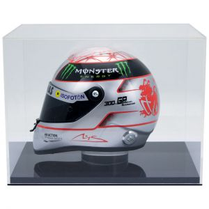 Michael Schumacher Platinum Helmet Spa 300th GP 2012 1/2