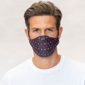 Mund-Nasen Maske Karo
