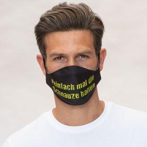 Slogan du masque bouche-nez