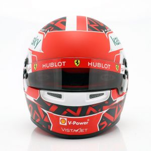 Charles Leclerc Miniaturhelm Ferrari SF1000 #16 1:2