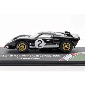 Ford GT40 MK II #2 Gagnant 24h LeMans 1966 1/43