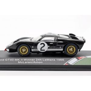 Ford GT40 MK II #2 Winner 24h LeMans 1966 1/43