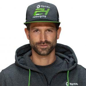 24h-Race Cap Sponsor Flat Brim 2020 grey