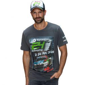 24h-Rennen T-Shirt 2020 grau