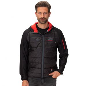 Kimi Raikkonen quilted jacket Cross 7