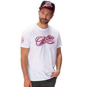 Kimi Räikkönen T-Shirt Script Logo white