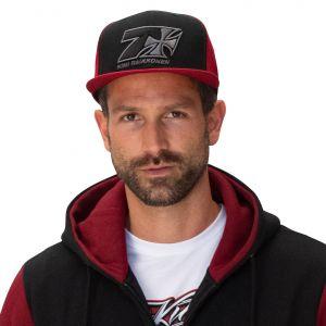 Kimi Raikkonen Casquette Croix Sept Flatbrim rouge