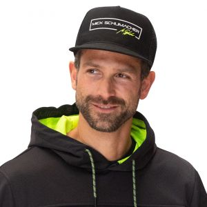 Mick Schumacher Flat Cap Series 1 schwarz