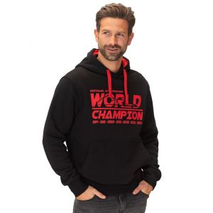 Michael Schumacher Kapuzenpullover World Champion schwarz