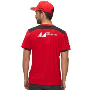 Mick Schumacher T-Shirt rouge