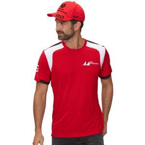 Camiseta Mick Schumacher rojo