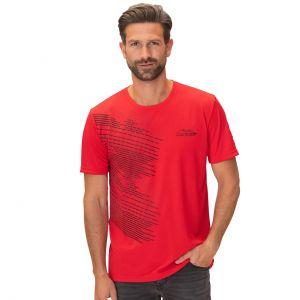 Michael Schumacher T-Shirt Speedline Sport rossa