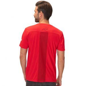 Michael Schumacher Camiseta roja deporte Speedline