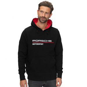 Porsche Motorsport Felpa con cappuccio nero