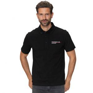 Porsche Motorsport Poloshirt schwarz