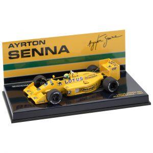 Ayrton Senna Lotus 99T 1987 Minichamps 1:43