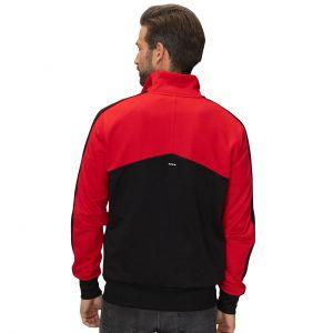 Scuderia Ferrari Sweatjacket noir / rouge