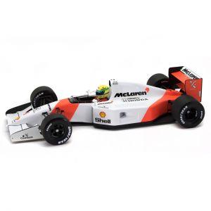 Ayrton Senna McLaren MP4/7 Minichamps 1:18