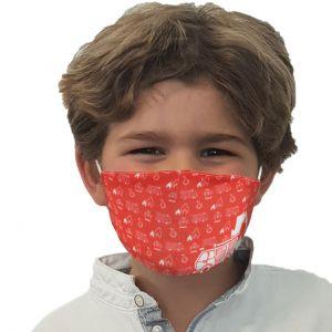 Máscara de boca y nariz El departamento de bomberos