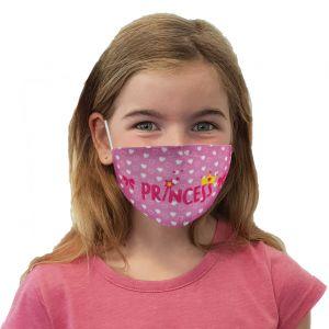 Mund-Nasen Maske Prinzessin