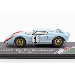 Ford GT40 MK II #1 2nd 24h LeMans 1966 1:43