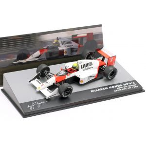 Ayrton Senna McLaren MP4/5 #1 Germany GP Formula 1 1989 1/43 Altaya