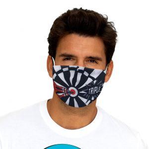 Fléchette de masque bouche-nez