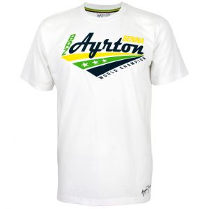 Camiseta Ayrton Senna World Champion