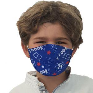 Maschera bocca e naso Calcio
