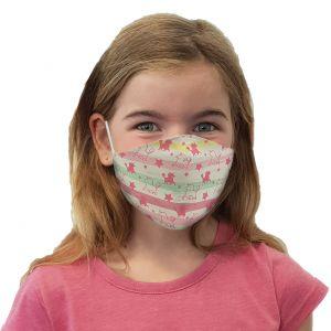 Masque buccal et nasal Licorne