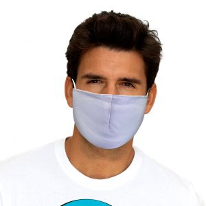 Neutral Mouth and Nose Mask white
