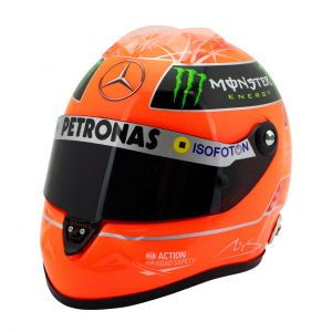 Casco Michael Schumacher Final GP Formel 1 2012 1:2