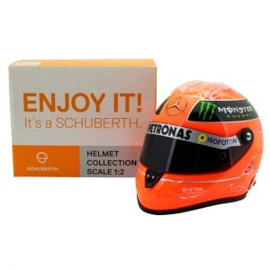 Michael Schumacher Casque GP Formule 1 2012 1/2